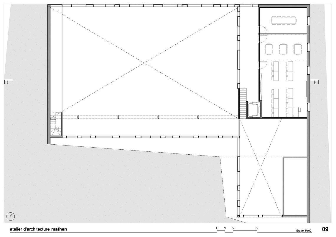Maison rurale opprebais atelier d 39 architecture mathen atelier d 39 architecture mathen for Plan b design fabrication inc