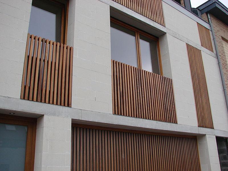 Maison louvain la neuve une r alisation de l 39 atelier d for Habitation neuve